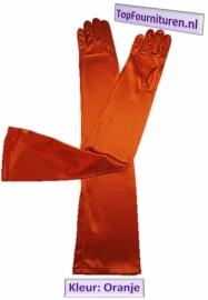 Handschoen Oranje