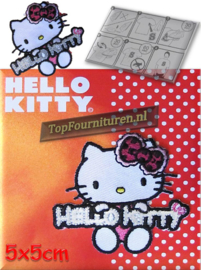 Hello Kitty reflecterend (no.9)