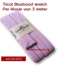 Tricot Biaisband Jersey oud roze