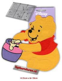 XL Applicatie Pooh met zijn pot honing