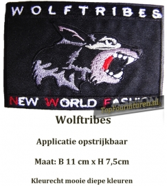 Applicatie Wolftribes zwart