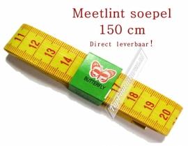 Meetlint 150 cm soepel (Staffelkorting)