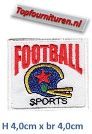 Applicatie football opstrijkbaar