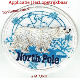 Applicatie ijsbeer North Pole