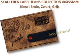 Skai-leren label (63980-01)