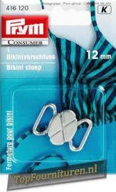 Bikinisluiting metaal 12mm