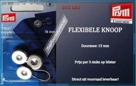 Flexibele knoop als het even te strak zit! Prym 311531
