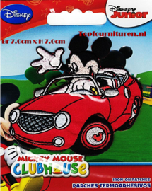 Mickey Mouse in auto applicatie