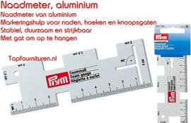 Naadmeter aluminium