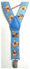 Kinderbretels Lichtblauw Winnie The Pooh