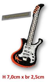 Applicatie opstrijkbaar gitaar