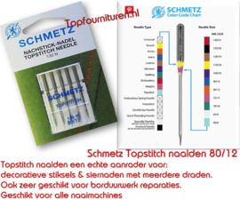 Schmetz Topstitch naalden 80/12