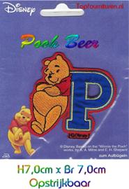 Pooh 7x7cm applicatie