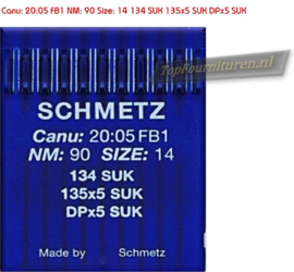 CANU 20:05 FB1 NM: 90 Size: 14 134 SUK 135x5 SUK DPx5 SUK