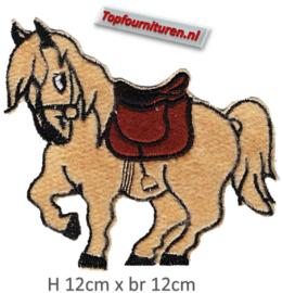 Applicatie paardje opstrijkbaar