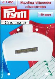 krijtpoeder voor rokzoommeter Prym 611886