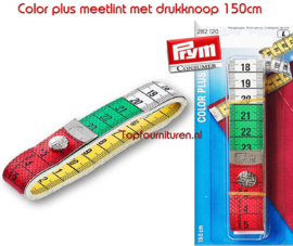 Meetlint 150cm Color plus Prym 282120