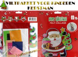 Viltpakket voor kinderen Kerstman