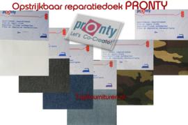 Pronty Jeans reparatiedoek opstrijkbaar voor zware stoffen