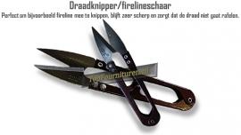 Draadknipper / fireline schaartje