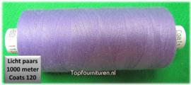 Lichtpaars naaimachinegaren 1000 meter