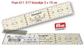 Liniaaltje 3x15cm Prym 611317