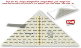 Driehoek liniaal Prym 611313