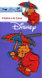 Winnie the Pooh met paraplu