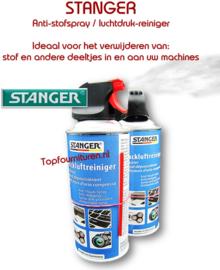 Luchtdruk reiniger voor onderhoud van draaiende delen.