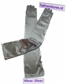 Handschoen zilver