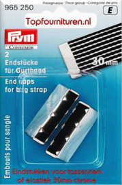 Eindstuk voor tassenriem of elastiek Prym 965250