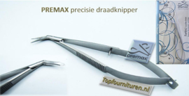Premax draadknipper-knijpschaartje schuin prof.