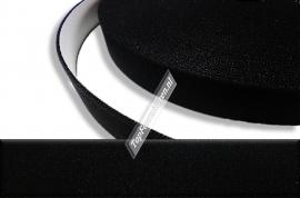 Elastiek 3.0 / 3,5cm breed zwart & wit