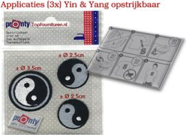 Yin & Yang applicaties 3x