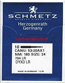 Canu: 53:20AX1 NM: 180 Size: 24 794 LR DYX3 LR leernaald