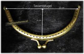 Tassenbeugel/frame rond brons 10cm