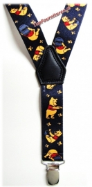 Kinderbretels Donkerblauw Winny The Pooh