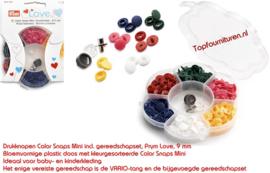 Drukknopen Colorsnaps mini Prym 393950