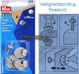 Veiligheidssluiting roestvrij Prym 416495