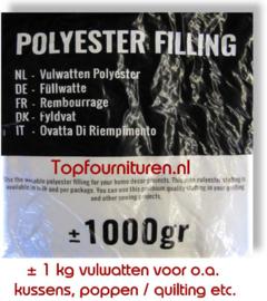 Vulwatten Polyester.