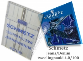 Jeans/Denim Tweelingnaald 4.0/100