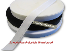 Schouderband elastiek 1,8 cm breed