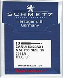 CANU: 53:20AX1 NM: 200 Size: 25 794 LR DYX3 LR (leernaald)