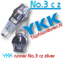 Ykk runner no 3 cz