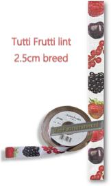 Tutti Frutti lint 2.5cm breed