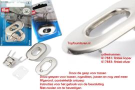 Tourniquets Prym 417881 antiek koper/ 417882 antiek koper