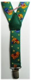 Kinderbretels Groen Winnie The Pooh