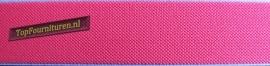 Reflecterend elastiek 2,5cm roze