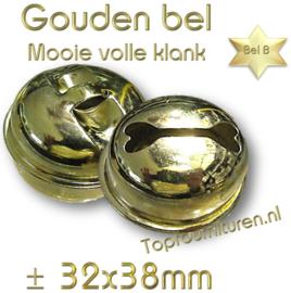 Gouden bel, volle klank (staffelkorting)