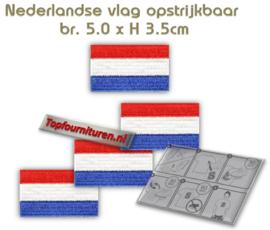Applicatie Nederlandse vlag klein